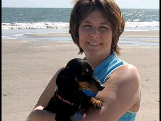 Chrisa and Kadie at the beach 2011
